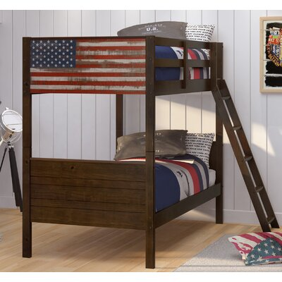 Patriot Twin Over Twin Bunk Bed