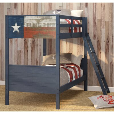 Lonestar Twin Over Twin Bunk Bed