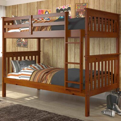 Donco Twin Bunk Bed Finish: Espresso