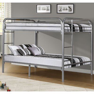 Full Metal Bunk Bed Finish: Silver