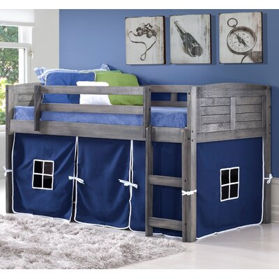 Zoomie Kids Irons Twin Low Loft Bed 513D8BB34C784B2A9BA9D82A4EEE0F80