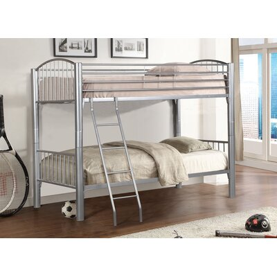 Metal Twin over Twin Bunk Bed