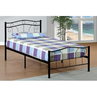Metal Twin Slat Bed
