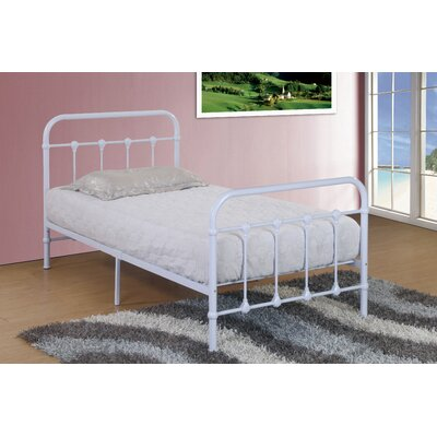 Hansen Metal Twin Slat Bed