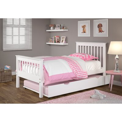 Cloey Twin Slat Bed with Drawer