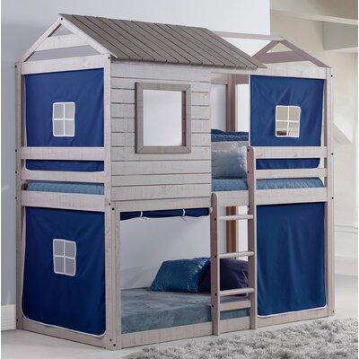 Alosio Bunk Bed Accessory Fabric Color: Blue