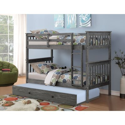 Iolanthe Trundle Unit Color: Brushed Gray