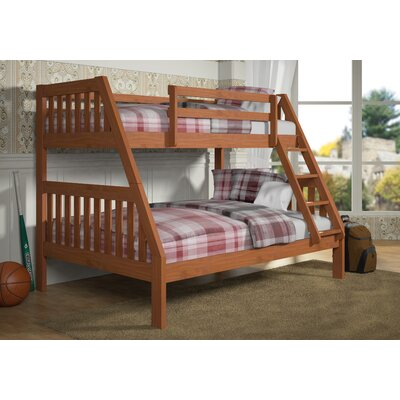 Twin over Full Bunk Bed Color: Cinnamon