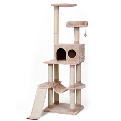 42 4 Level Vertical Tower Cat Tree