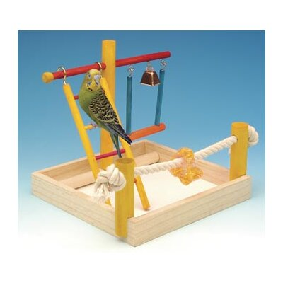 Small Wooden Playground Bird Activity Center BA145