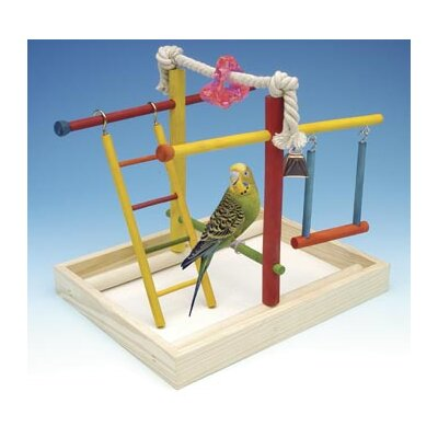 Medium Wooden Playground Bird Activity Centre BA146