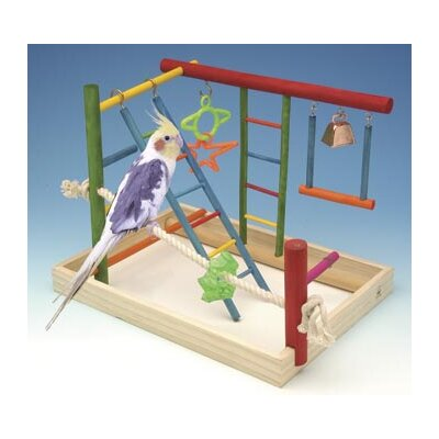 Large Wooden Playground Bird Activity Centre BA147