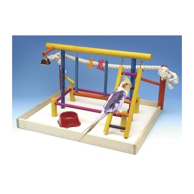 Extra Large Wooden Playground Bird Activity Centre BA148