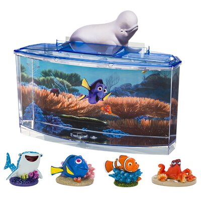 0.7 Gallon Disney� Pixar Finding Dory Betta Aquarium Kit