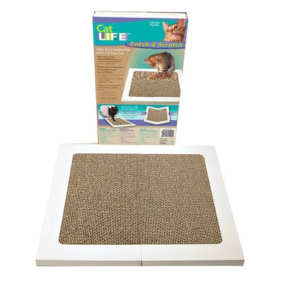 Cat Life Catch and Scratch Mat Size: Large