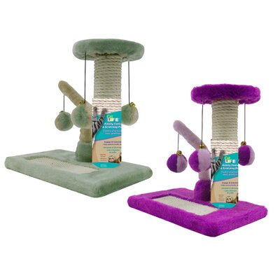 2 Piece Kitty Activity Centre Sisal Scratching Post Set CATF23