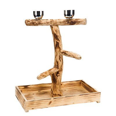 Bird Tree Perch Size: 20.5 H x 11.75 W x 3.75 D