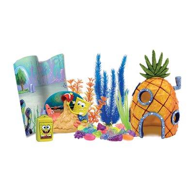 Buy low price penn plax nickelodeon spongebob squarepants for Aquarium decoration kits