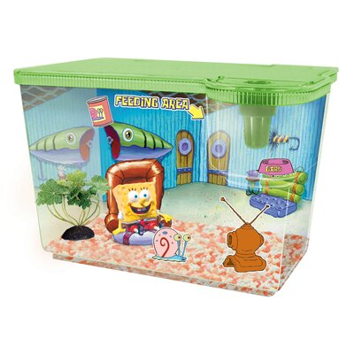 Buy low price penn plax nickelodeon spongebob squarepants for Spongebob fish tank accessories