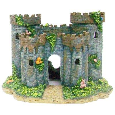 picture of penn plax medieval castle of france aquarium decoration in large size