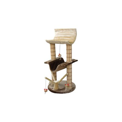 42 Multi-Level Lounger Cat Tree