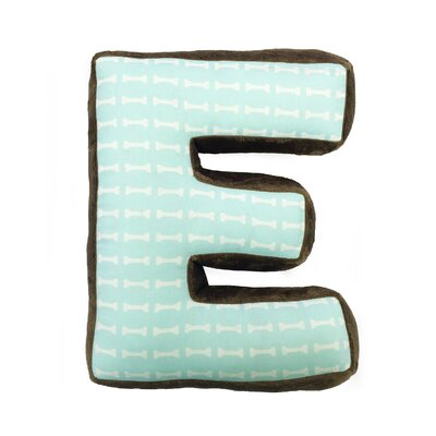 Ferndown Letter Throw Pillow Letter: E