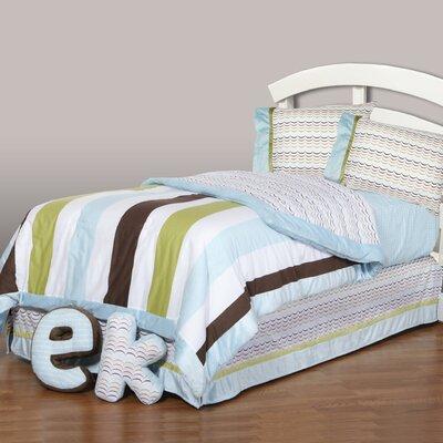 Puppy Pal Boy Reversible Comforter Set Size: Full