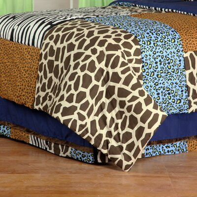 Jazzie Jungle Boy Bed Skirt Size: Twin