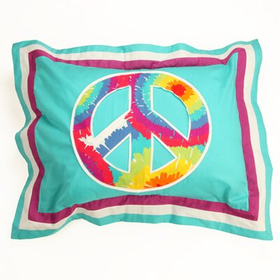 Terrific Tie Dye Standard Pillow Sham