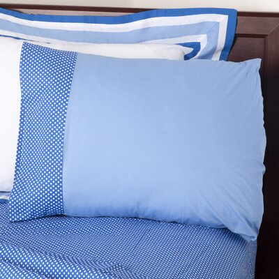 Simplicity Pillowcase Color: Blue