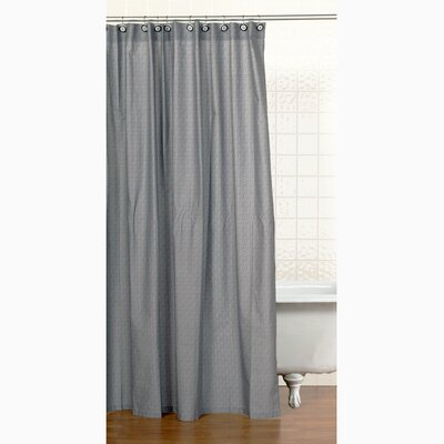 Teyos Tires Cotton Shower Curtain