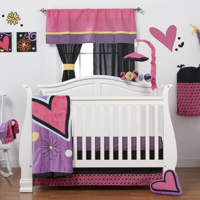 One Grace Place Sassy Shaylee 3 Piece Crib Bedding Collection
