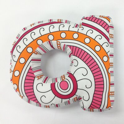 """One Grace Place Sophia Lolita Letter Pillow """"A"""" at Sears.com"""