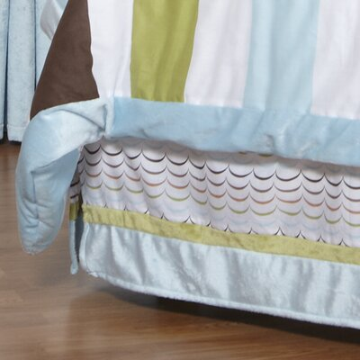 Puppy Pal Boy Cotton Bed Skirt Size: Full