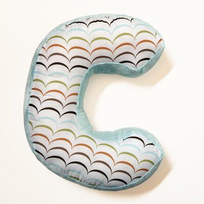 Ferndown Letter Throw Pillow Letter: C