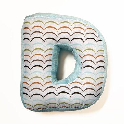 Ferndown Letter Throw Pillow Letter: D