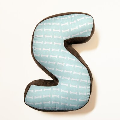 Ferndown Letter Throw Pillow Letter: S