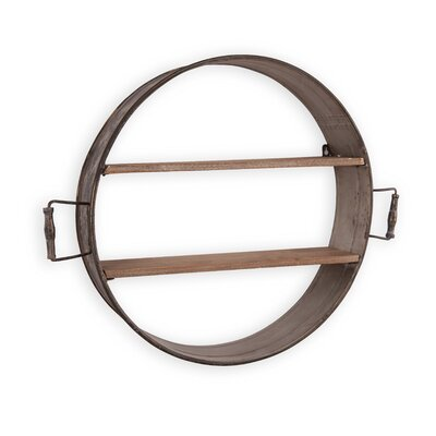 Brimfield Round Shelf