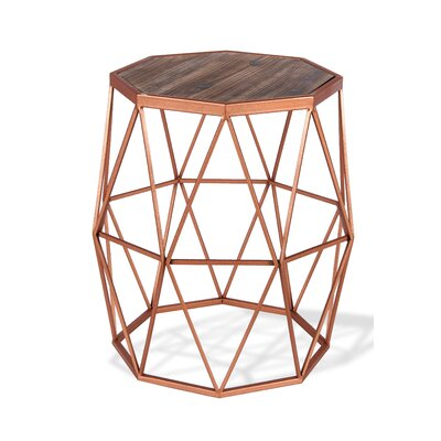 Geo End Table