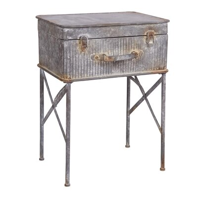Devon Suitcase End Table