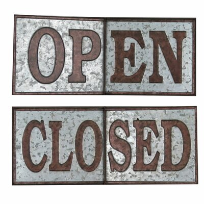 Hinged Open/Closed Sign