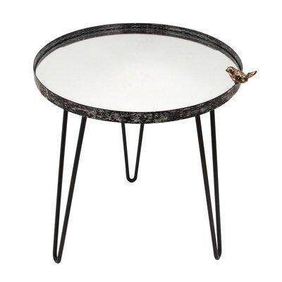 Bird Mirror End Table
