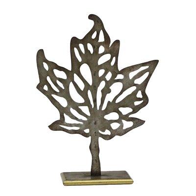 Maple Leaf Silhouette Sculpture