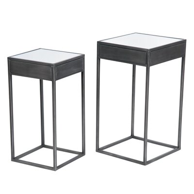 Didmarton 2 Piece Pedestal Nesting tables