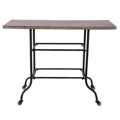 Ashville Prep Table with Wood