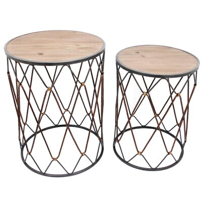 Park 2 Piece Nesting Tables Set