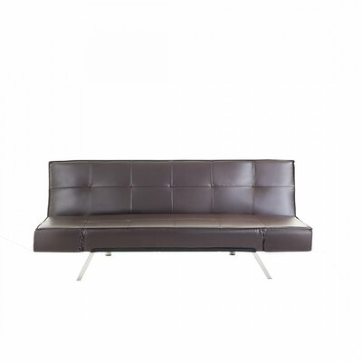 Finnegan Sofa Bed Upholstery: Brown