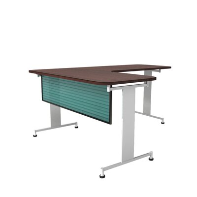 Polycarbonate Desk and Table Mounted Modesty Panel