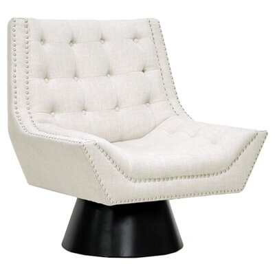 Baxton Studio Tamblin Lounge Chair Finish: Beige