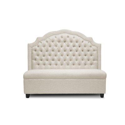 Baxton Studio Trumbull Modern Settee Upholstery: Beige